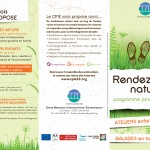 CPIE RDV Nature 1er semestre 2014 1